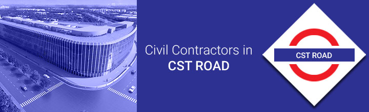 Civil Contractors in CST Road