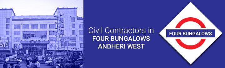 Civil Contractors in Four Bungalows Andheri West