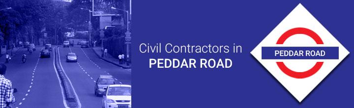 Civil Contractors in Peddar Road