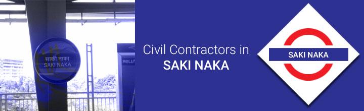 Civil Contractors in Saki Naka