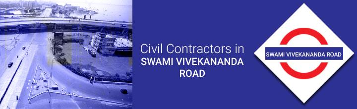 Civil Contractors in Swami Vivekananda Road